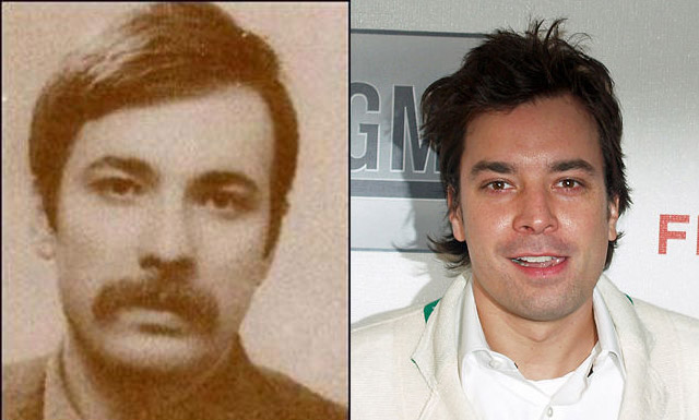 Celebrities And Their Incredible Look Alikes From The Past - 24 celebrities and their incredible look alikes from past